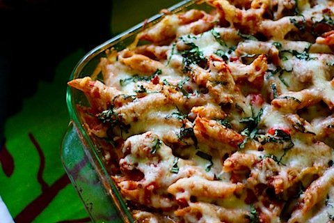 Bakey Cheesy Pasta