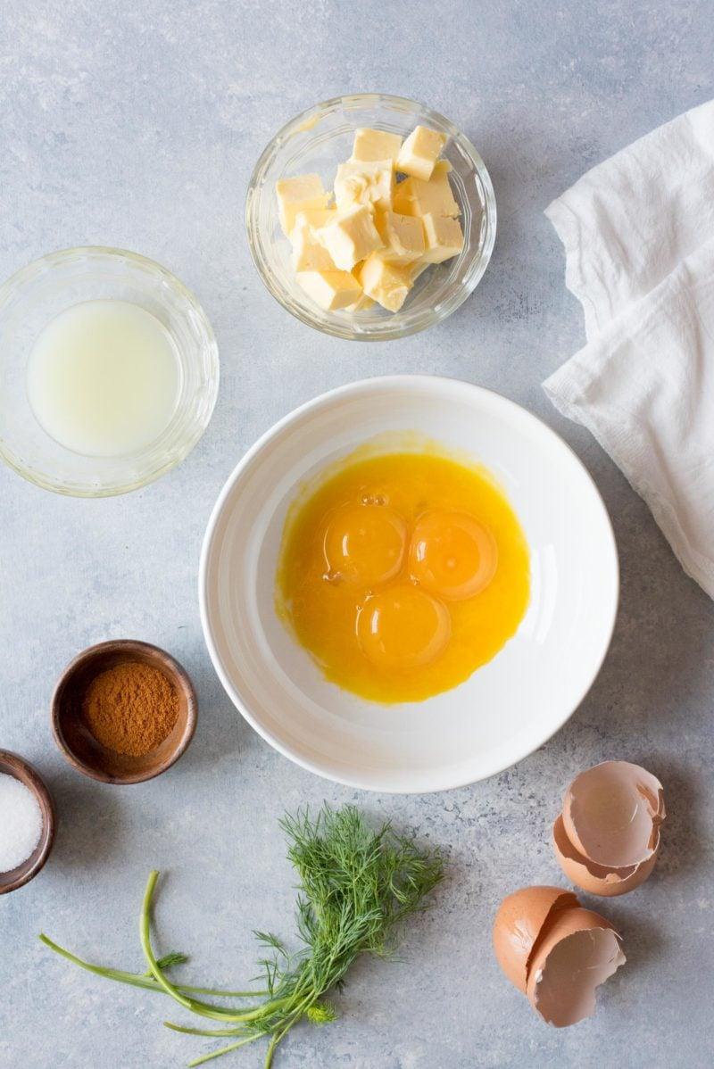 Smoked Salmon Eggs Benedict - Eggs