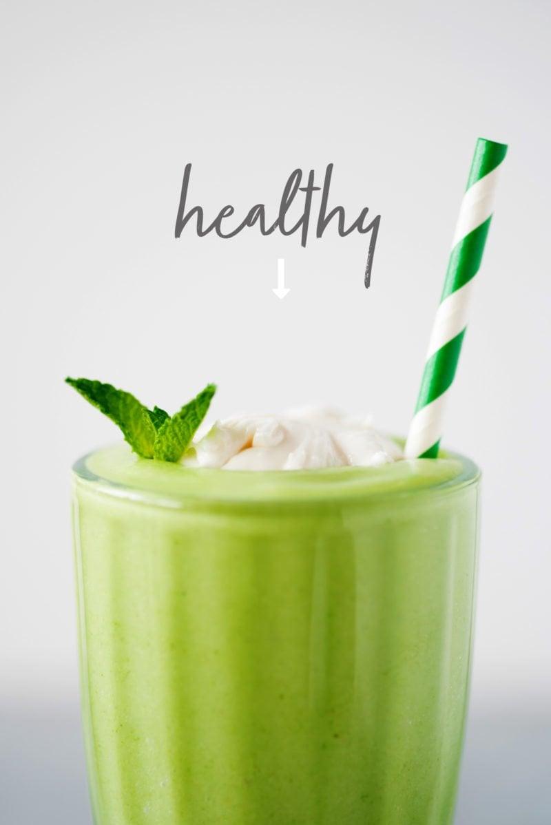 Shamrock Shake, a Healthier Take