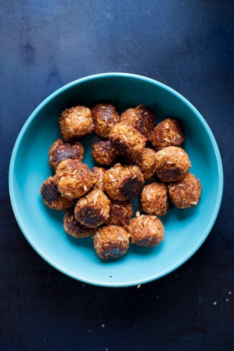 Vegan Meatballs - Bowl