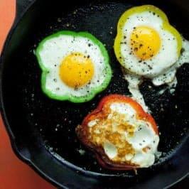 Bell Pepper Eggs