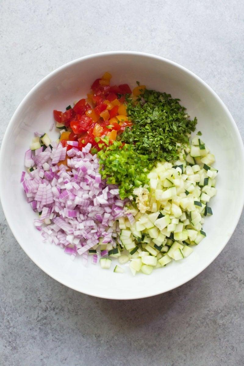 Cucumber Salsa - Ingredients