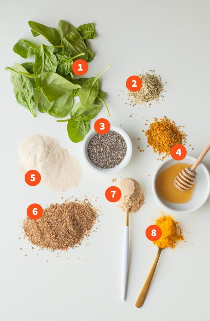 Smoothie Booster Packs - Ingredients