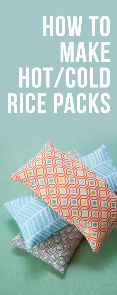 How to Make Hot/Cold Rice Packs