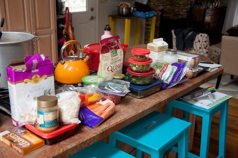 food prep ingredients