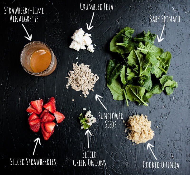 salad jar ingredients