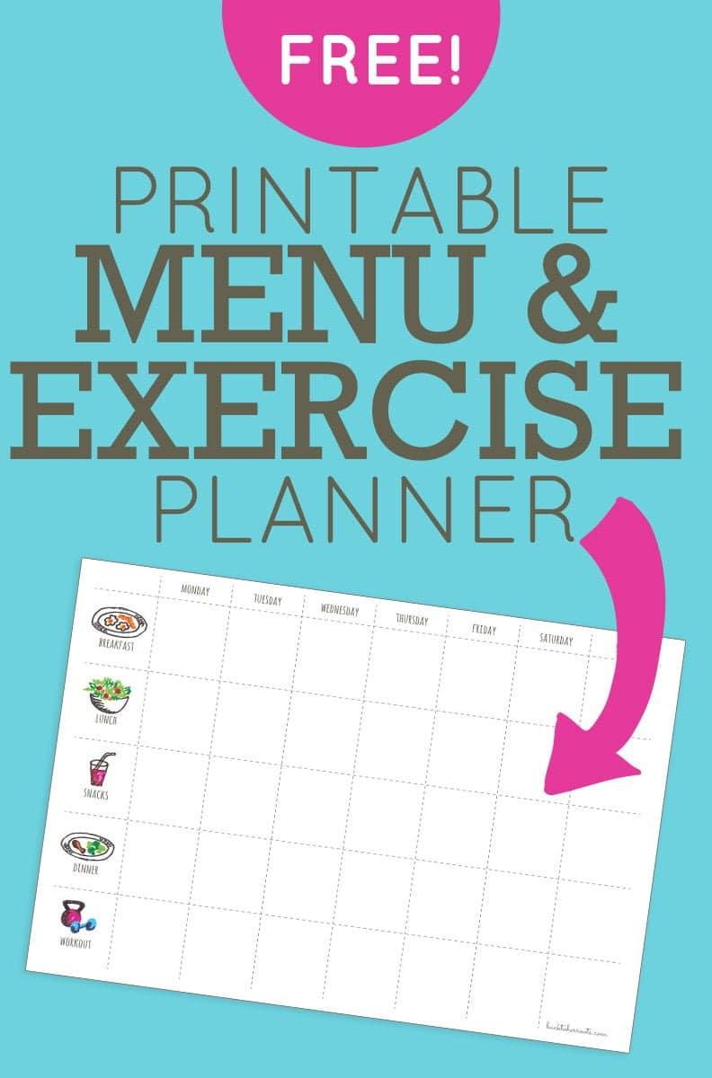 Accomplished image in free printable workout plan