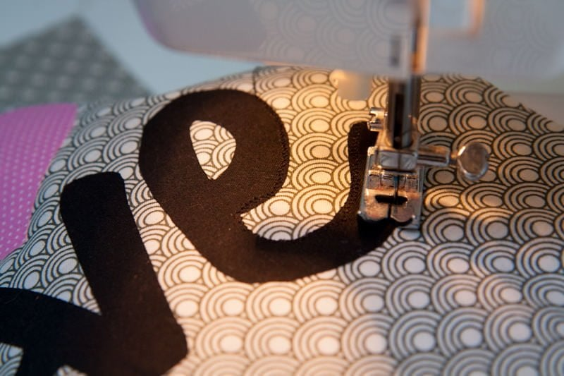 sewing machine pillow