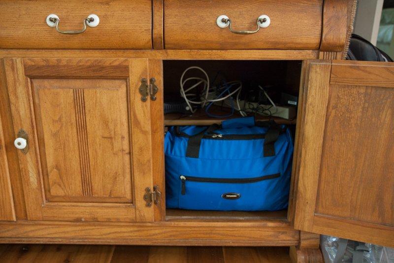 emergency kit cabinet