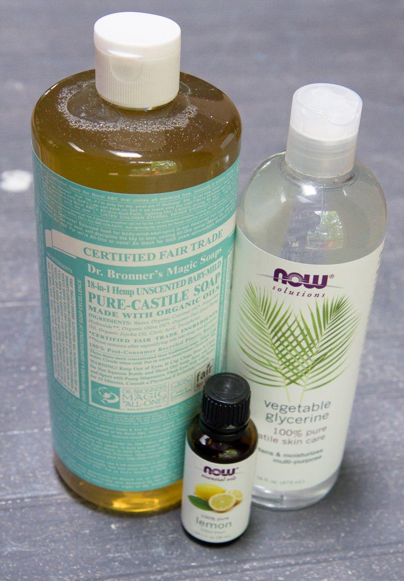 spray ingredients