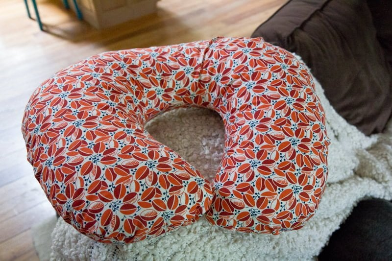 DIY Nursing Pillow and Cover