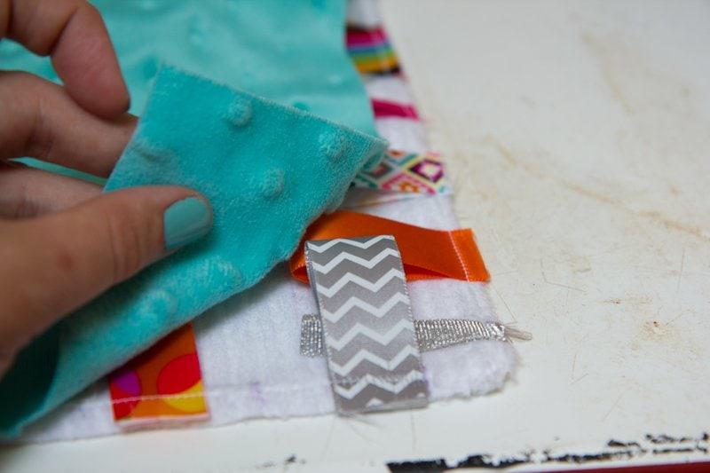 DIY Taggie Blanket