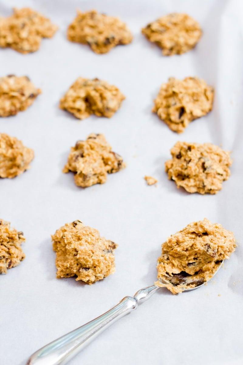 Oatmeal Pumpkin Breakfast Cookies