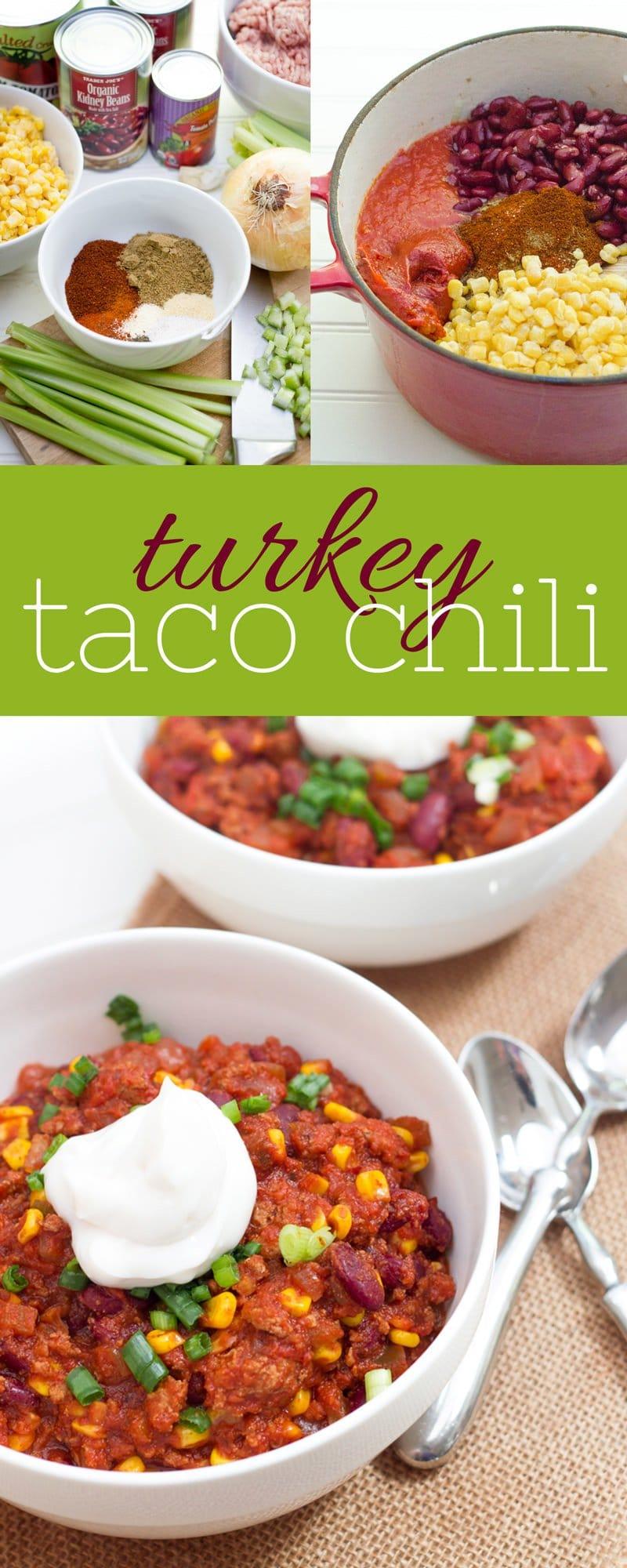 Turkey Taco Chili