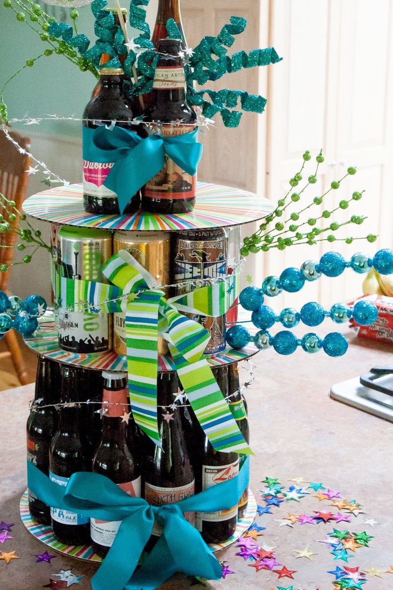 How To Make A Birthday Beer Cake