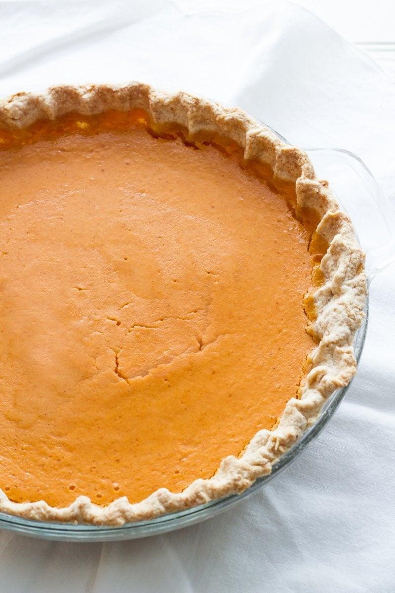 Coconut-Sweet Potato Pie