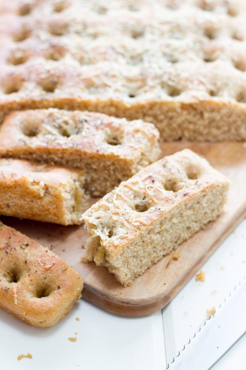 Whole Wheat Focaccia Bread