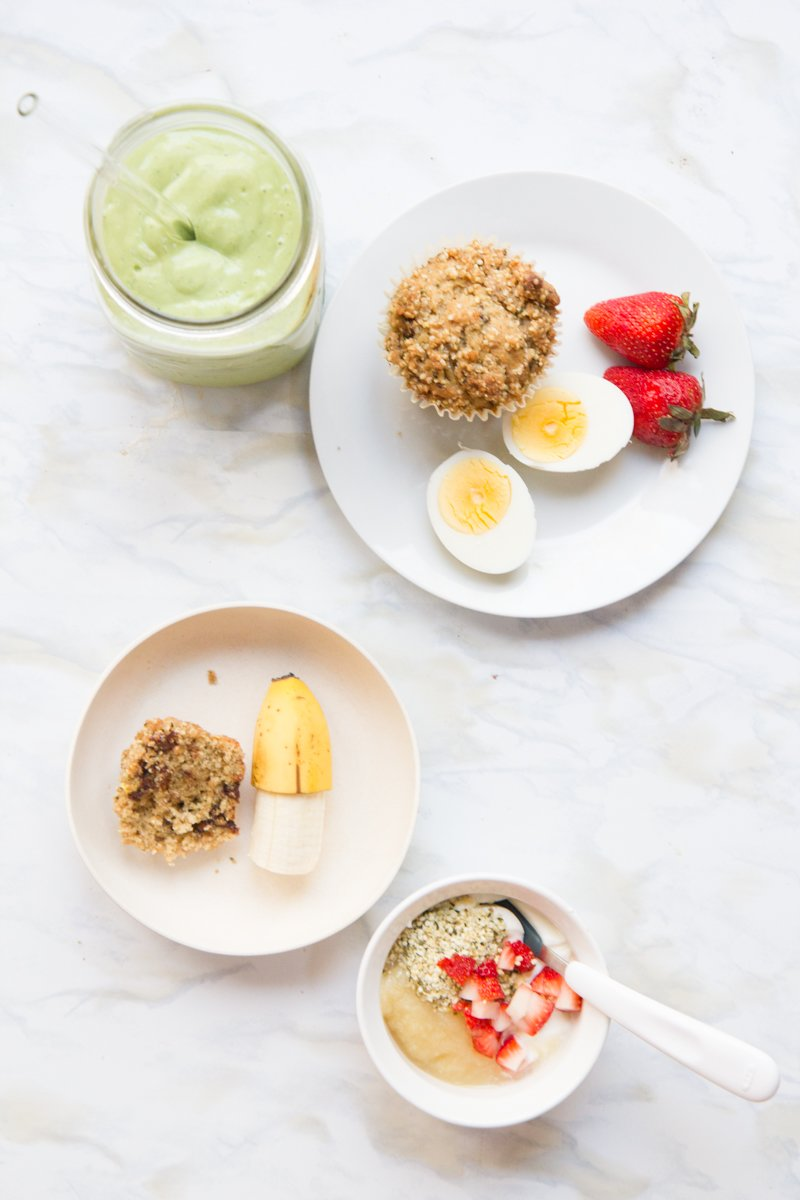 Baby Bites: Baby Led Weaning Breakfast Ideas