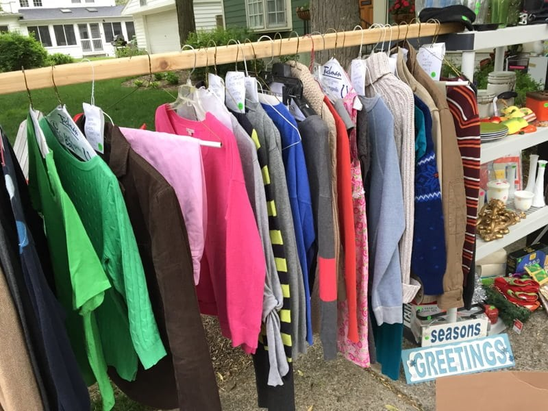 Clothing Yard Sale