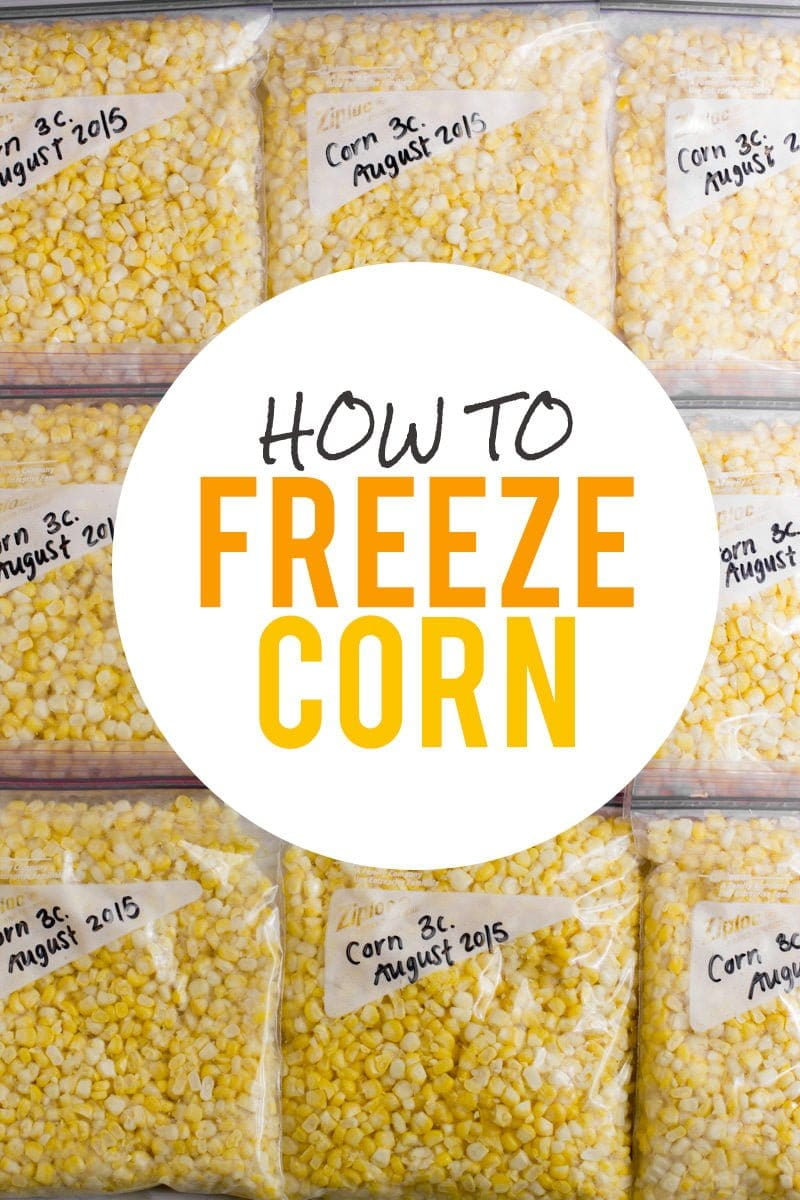 How to Freeze Corn