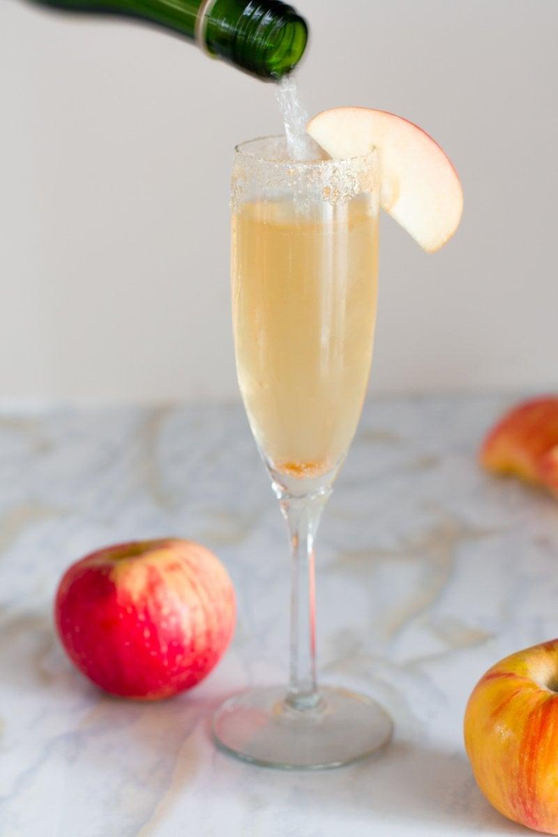 Apple Cider Mimosas
