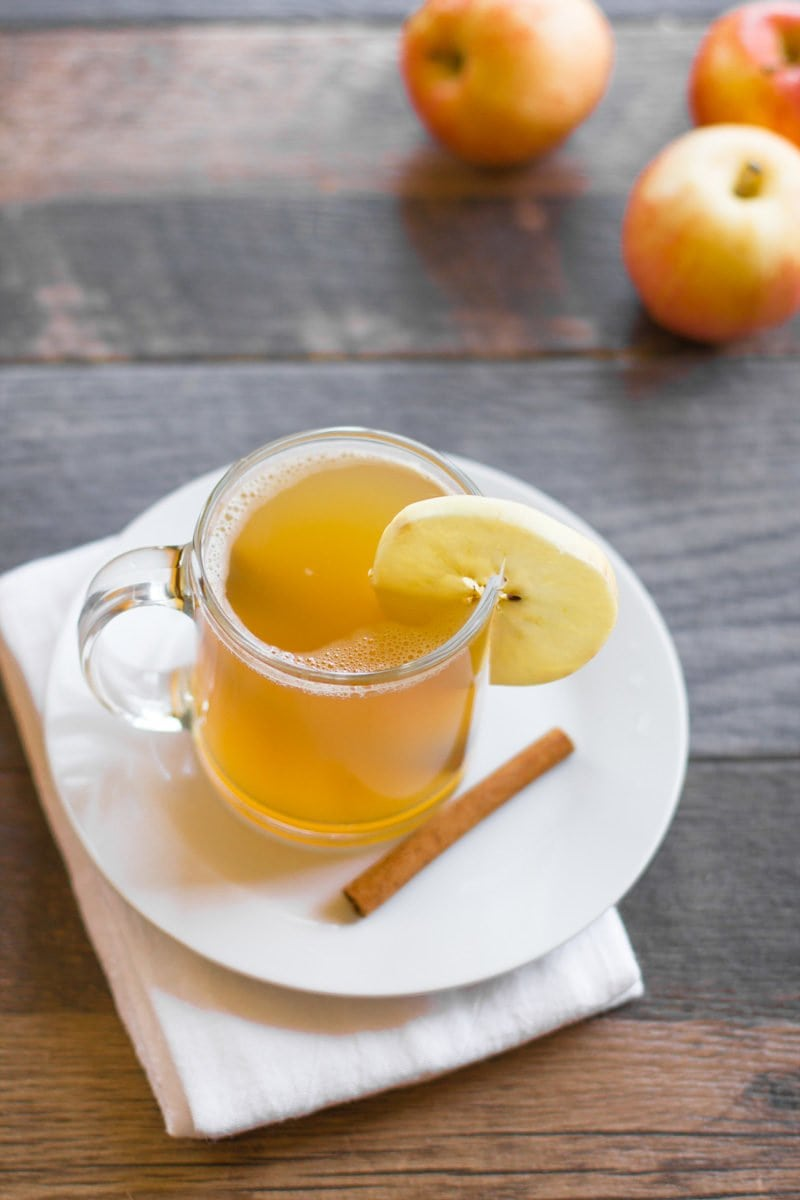 Apple Bourbon Hot Toddy