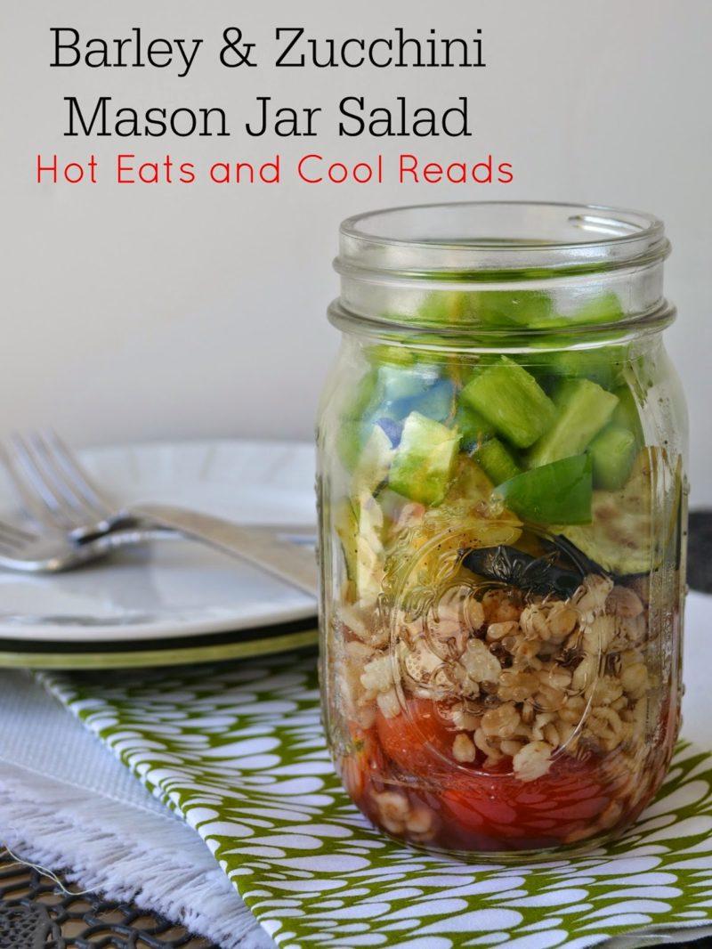 Barley Zucchini Salad Hot Eats Cool Reads