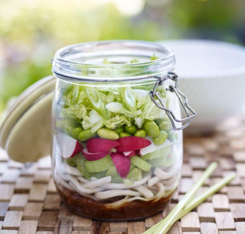 Noodle Kilner Jar Salad Love the Crunch