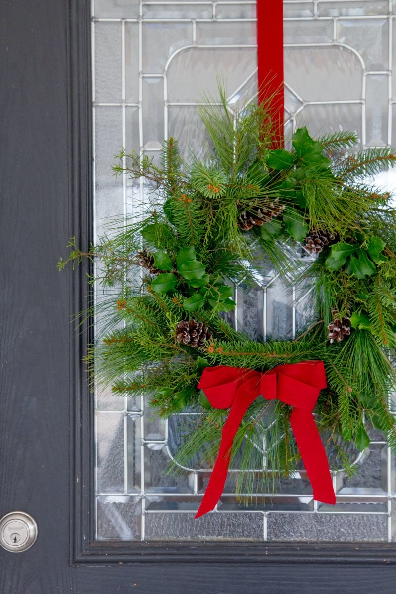 How To Make A Fresh Greenery Wreath Wholefully