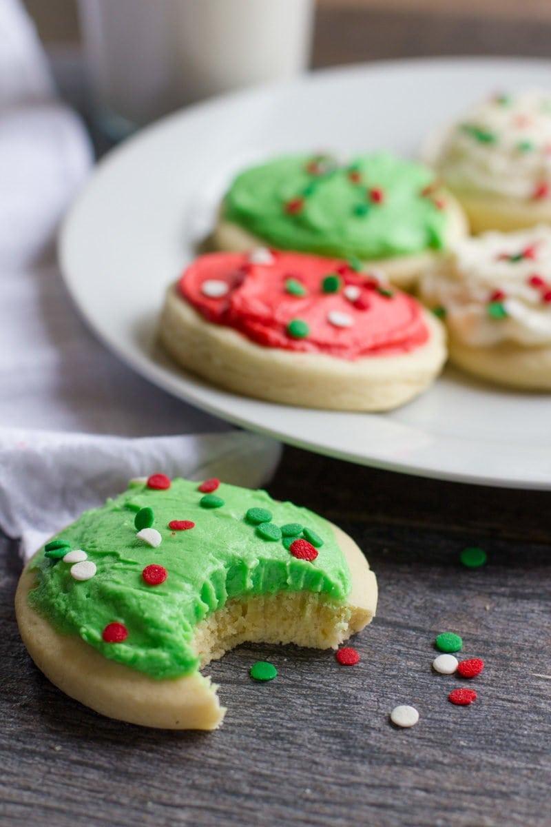 Copycat Lofthouse Sugar Cookies Wholefully