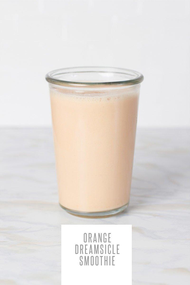 Orange Creamsicle Smoothie
