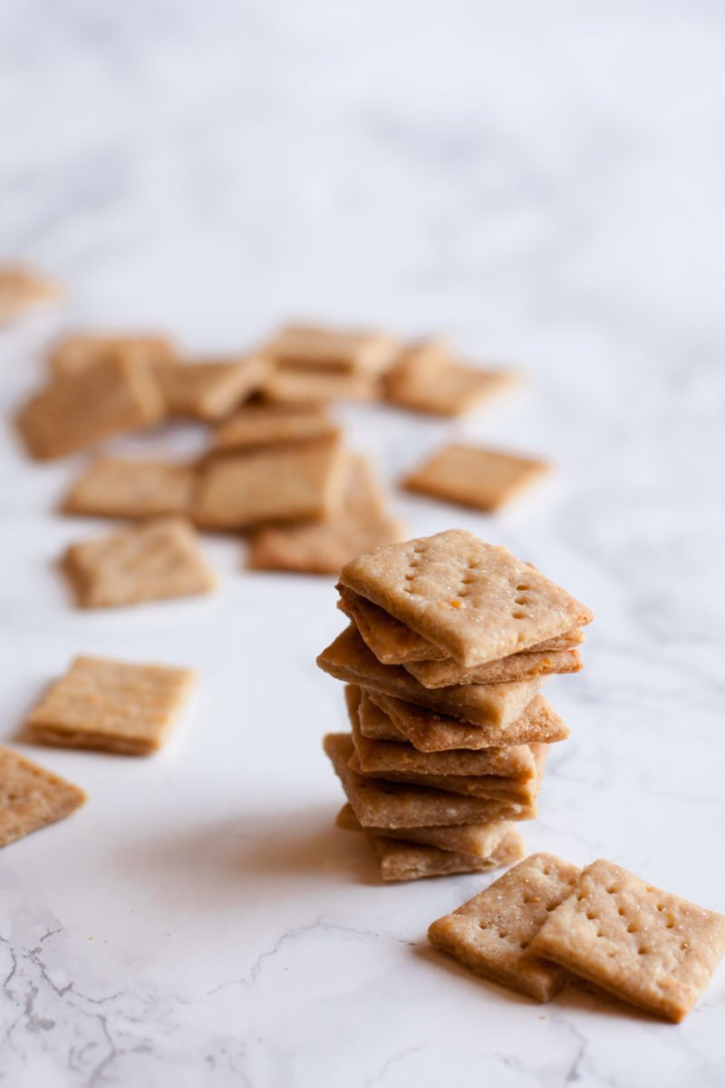 Parmesan Whole Wheat Crackers