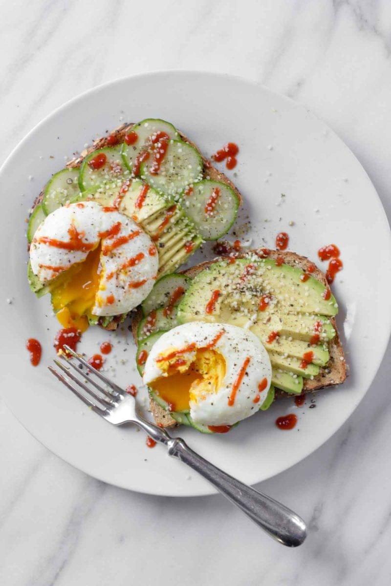 Avocado Toast with Eggs