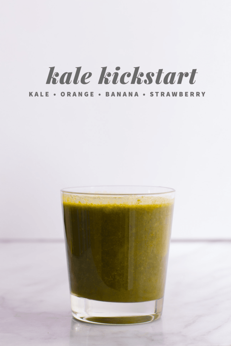Kale Kickstart Juice