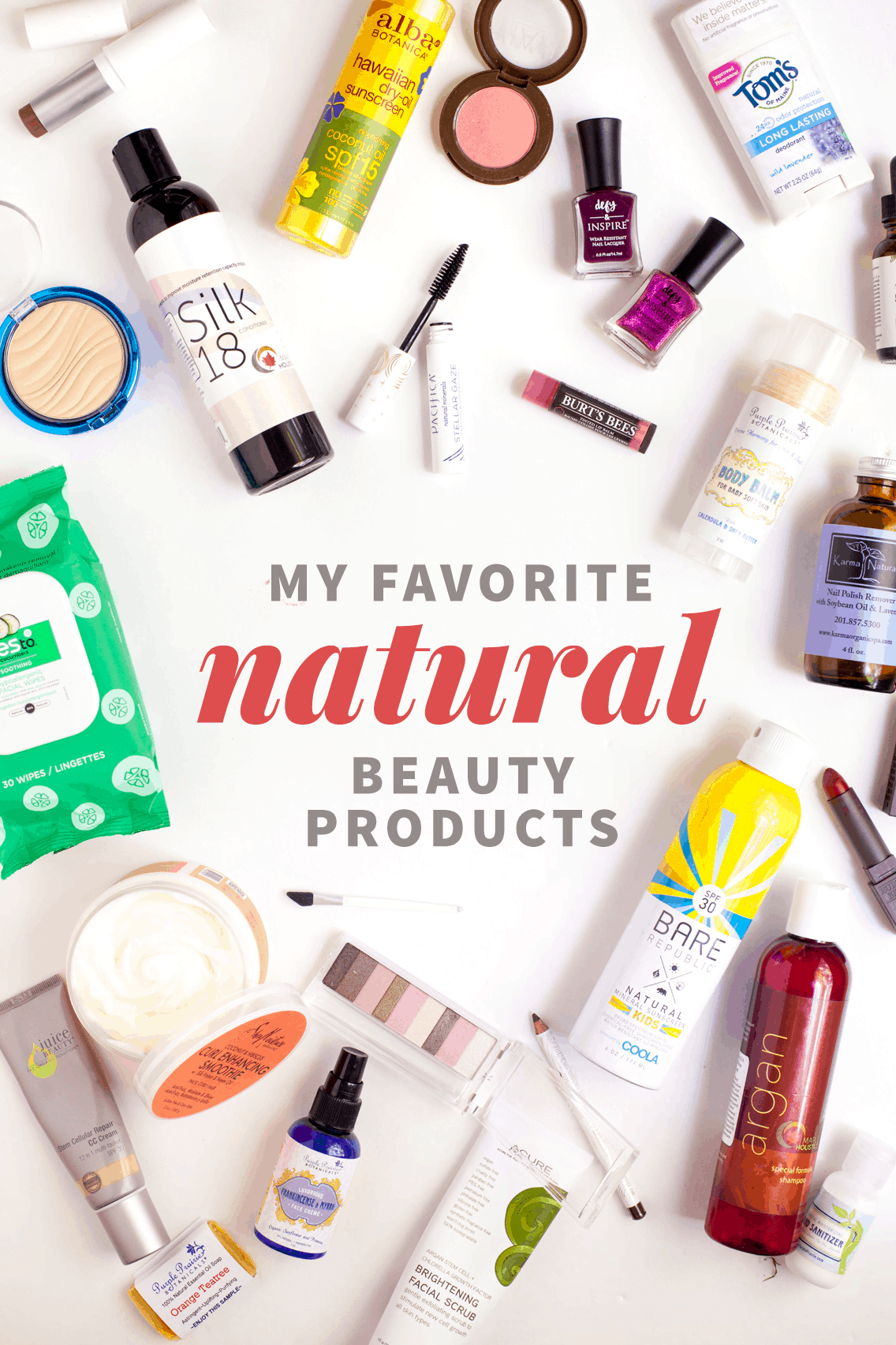My Favorite Natural Beauty Products | Wholefully