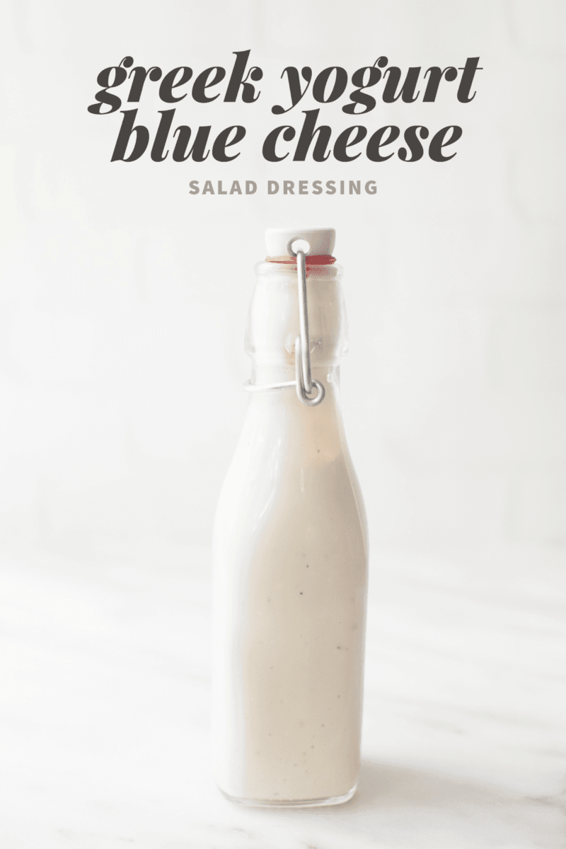 Greek Yogurt Blue Cheese Salad Dressing