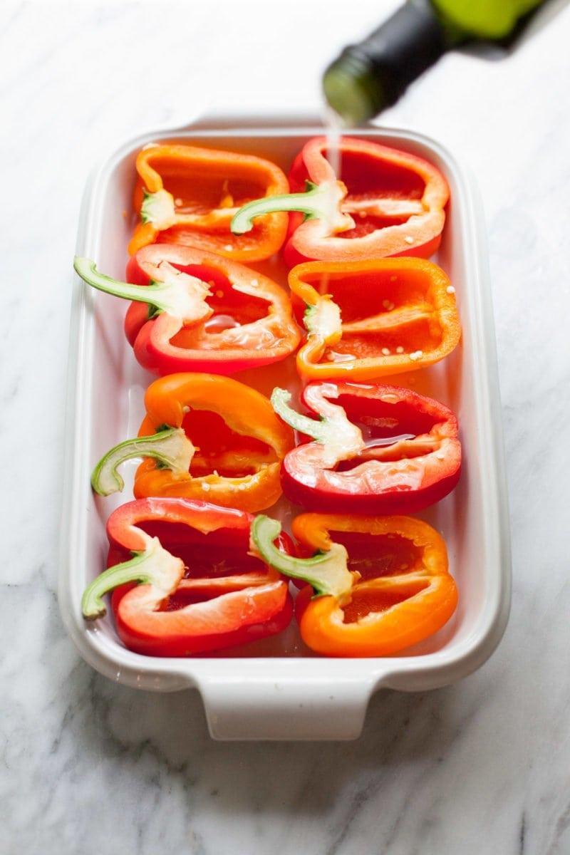 Southwestern Quinoa Stuffed Peppers