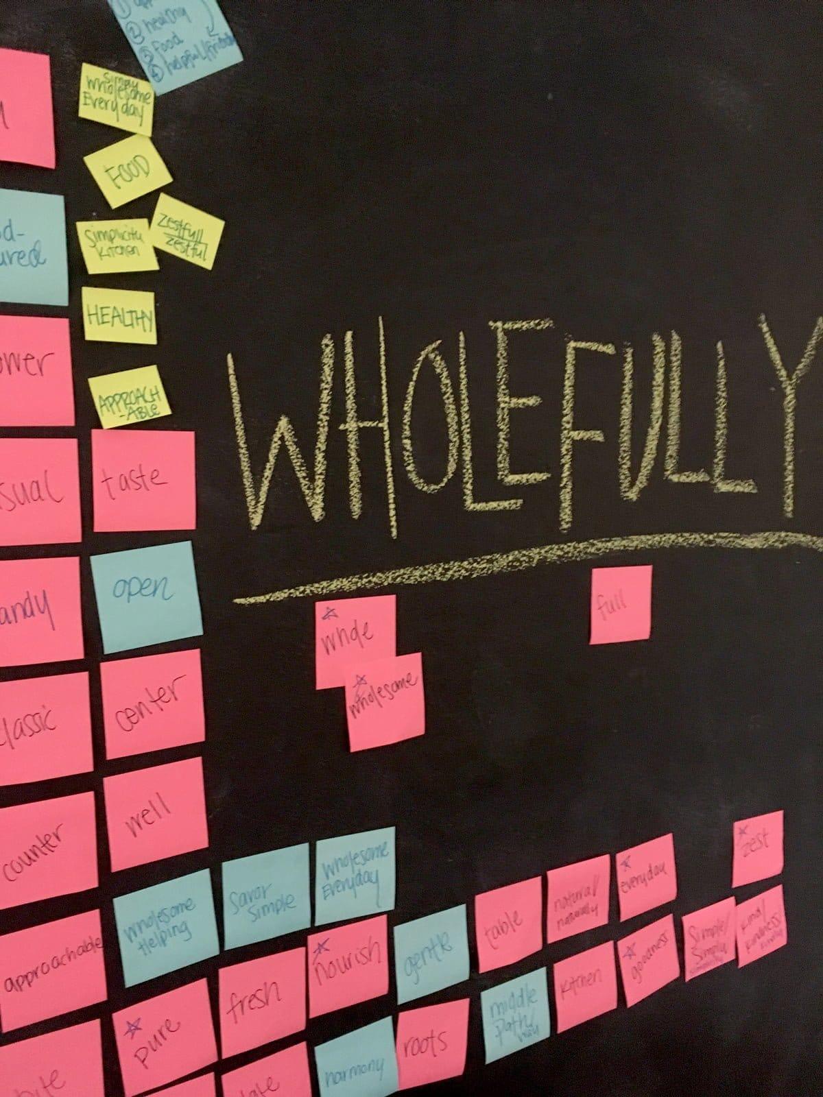 Wholefully Sticky Notes