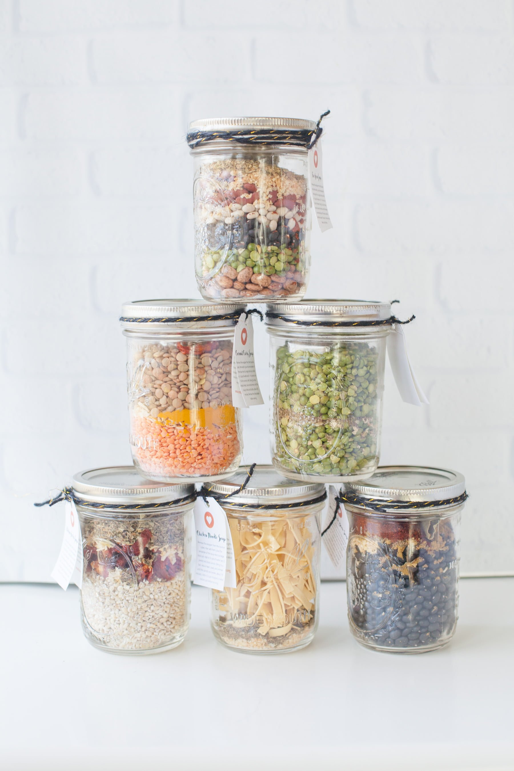 Soup Mixes in a Jar