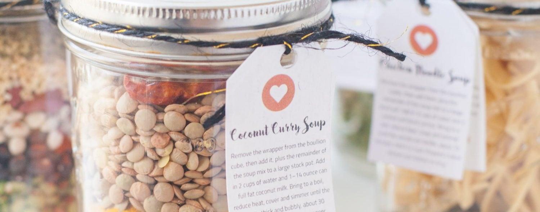 Soup Mixes in a Jar