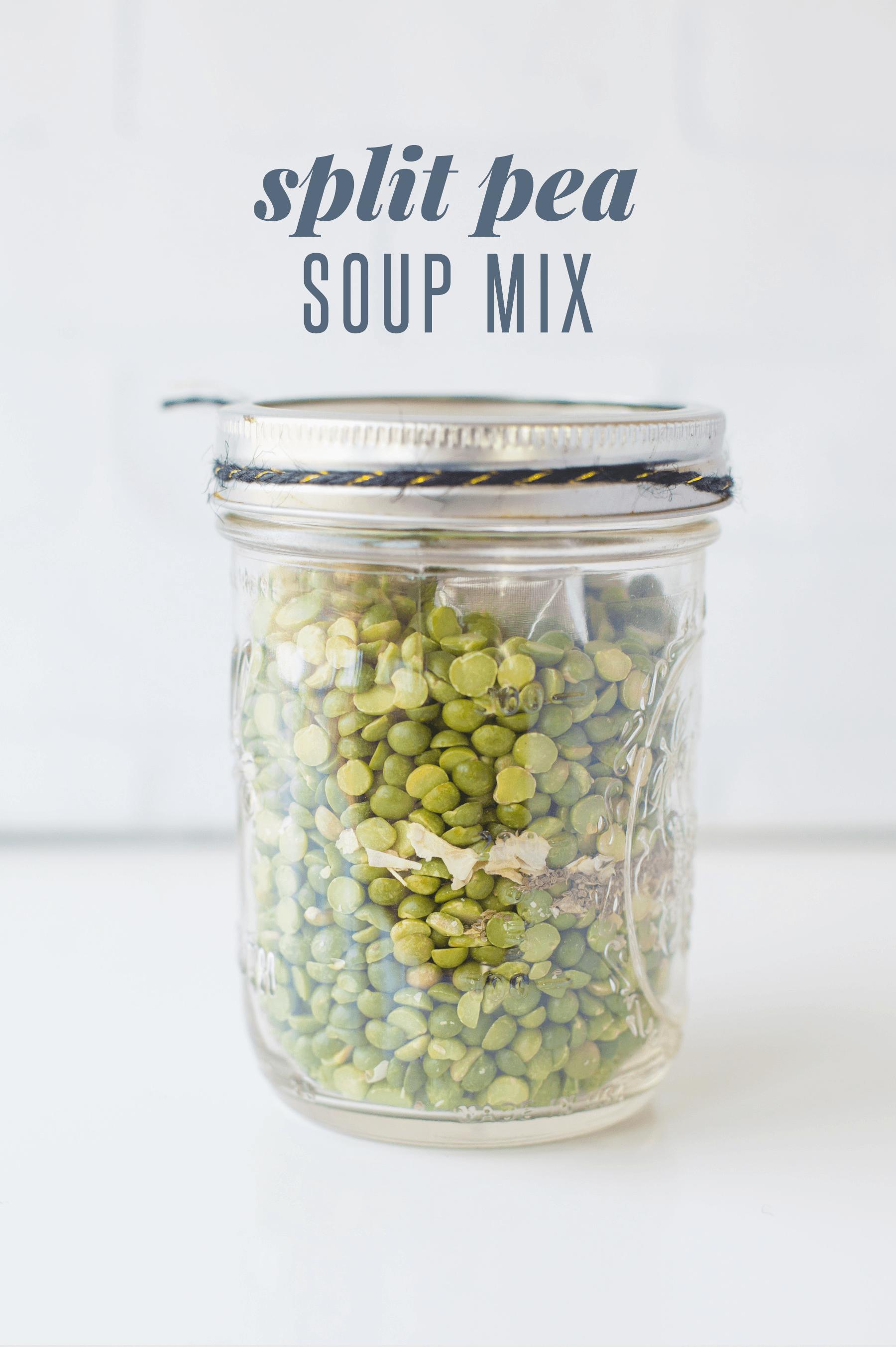 Split Pea Soup Mix