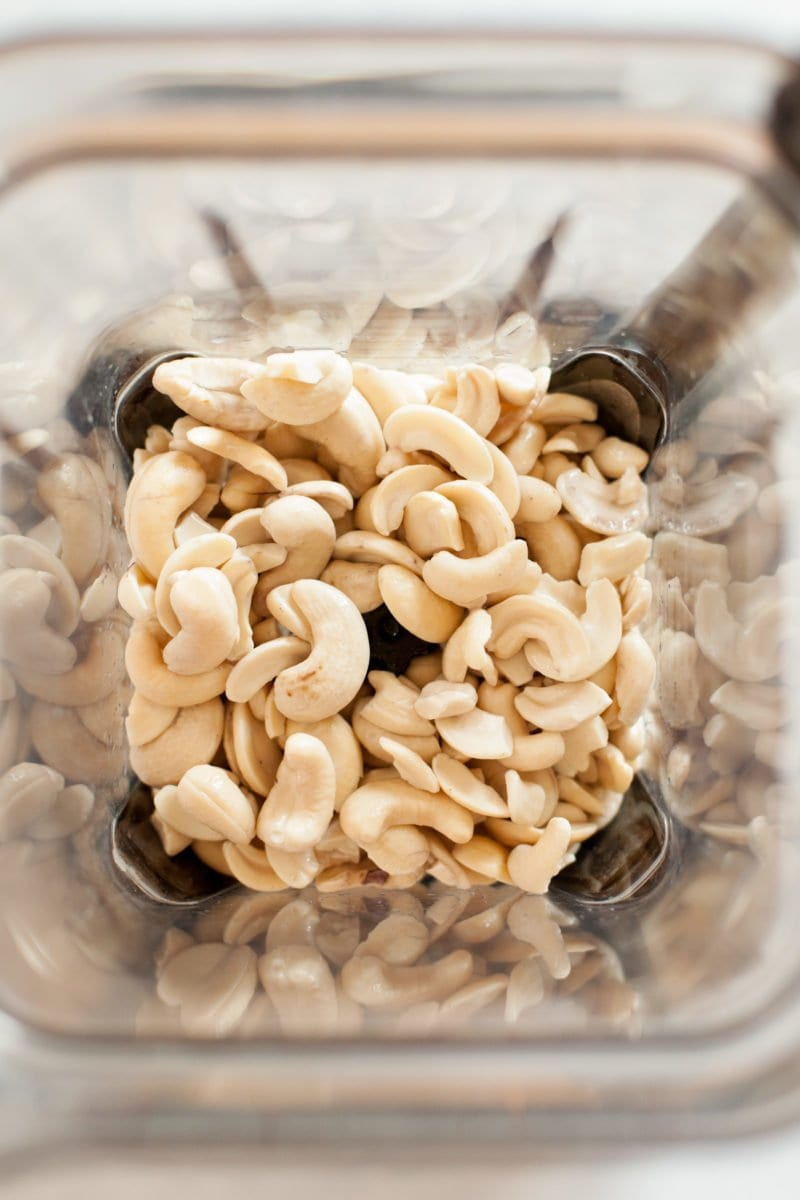 Cashews in Blender