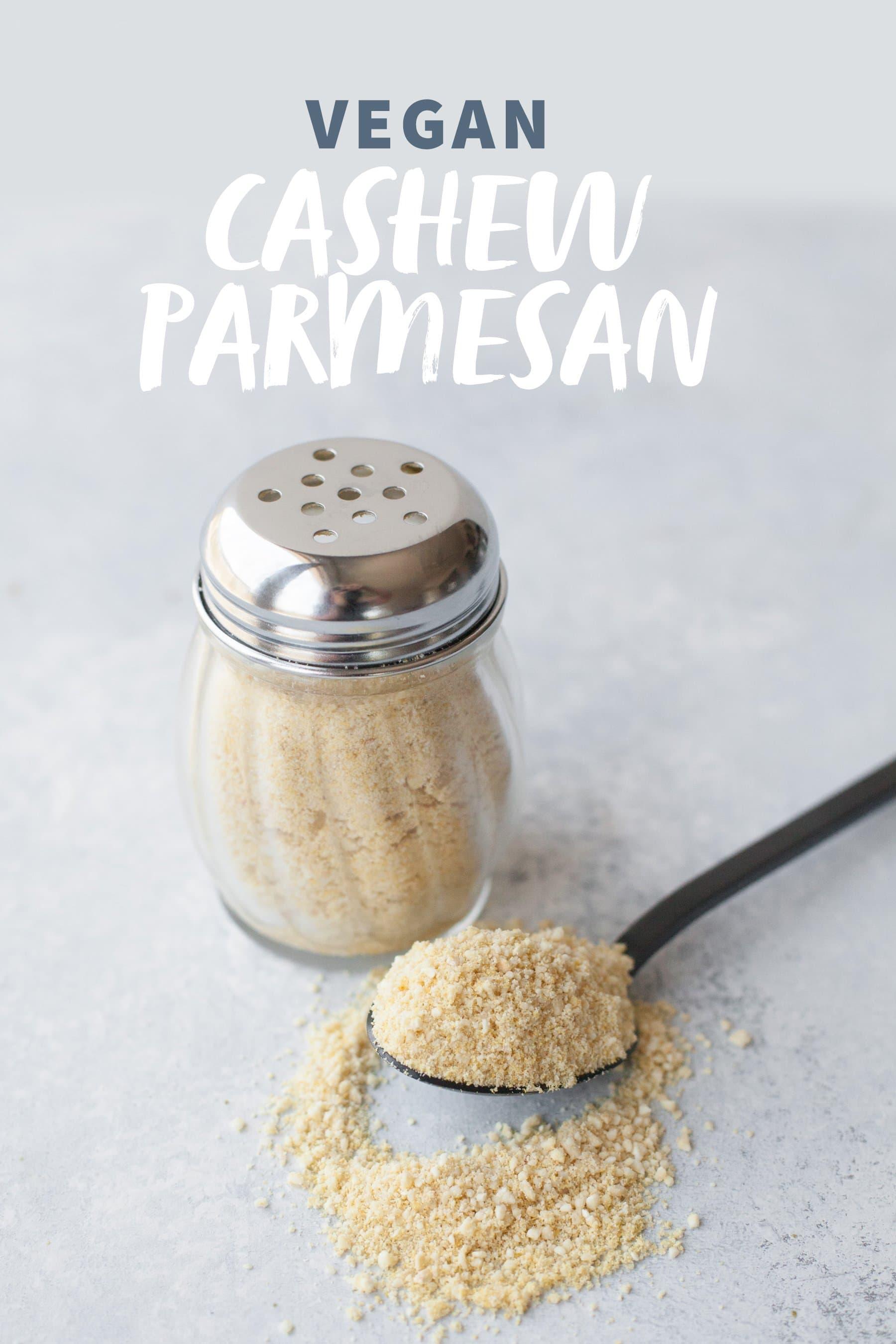 Vegan Cashew Parmesan
