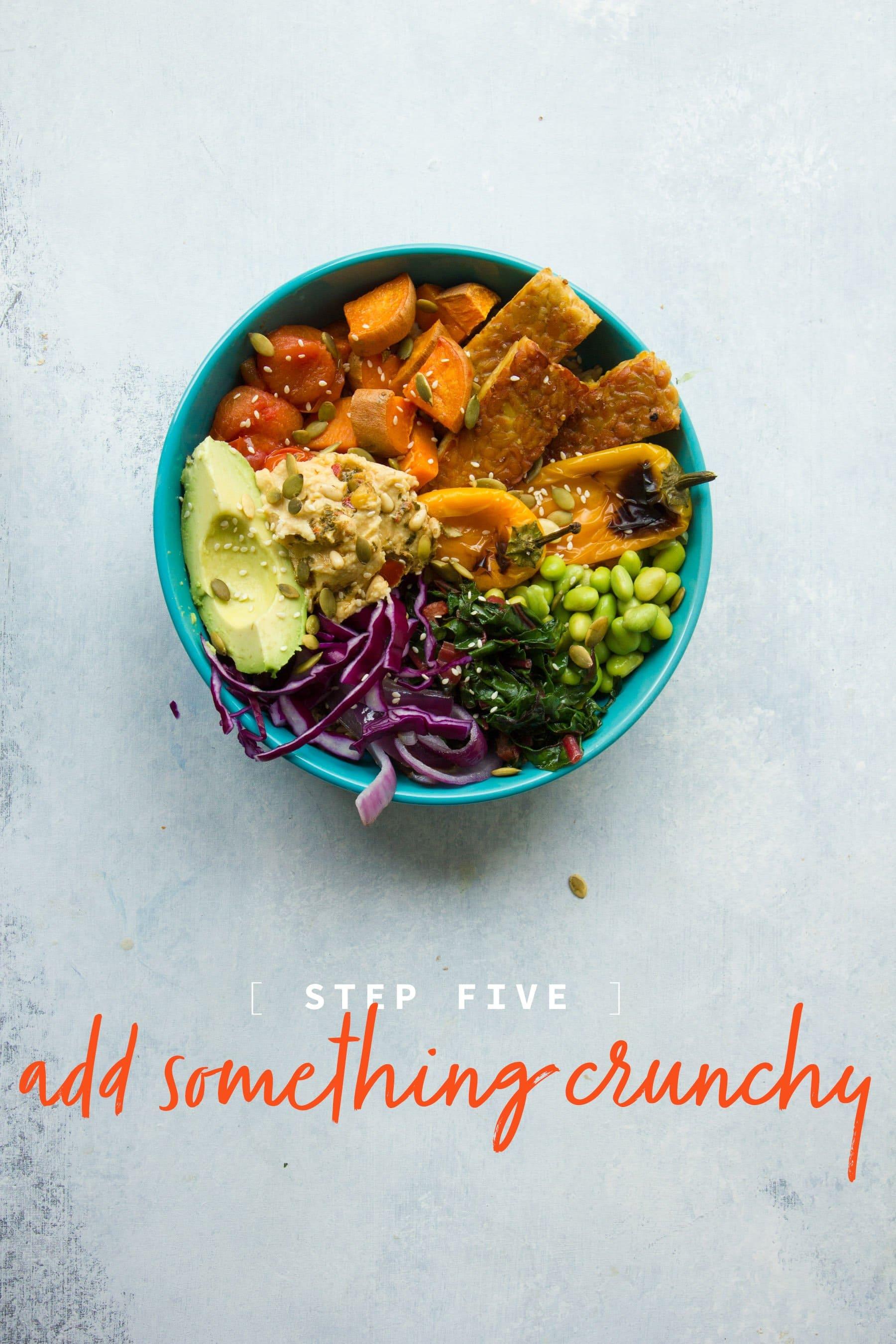 Step Five: Add Something Crunchy