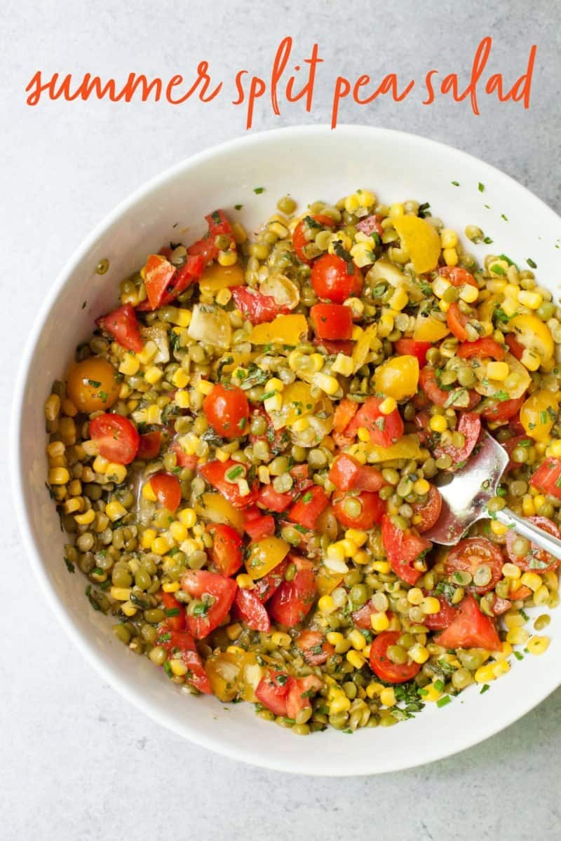 Summer Split Pea Salad
