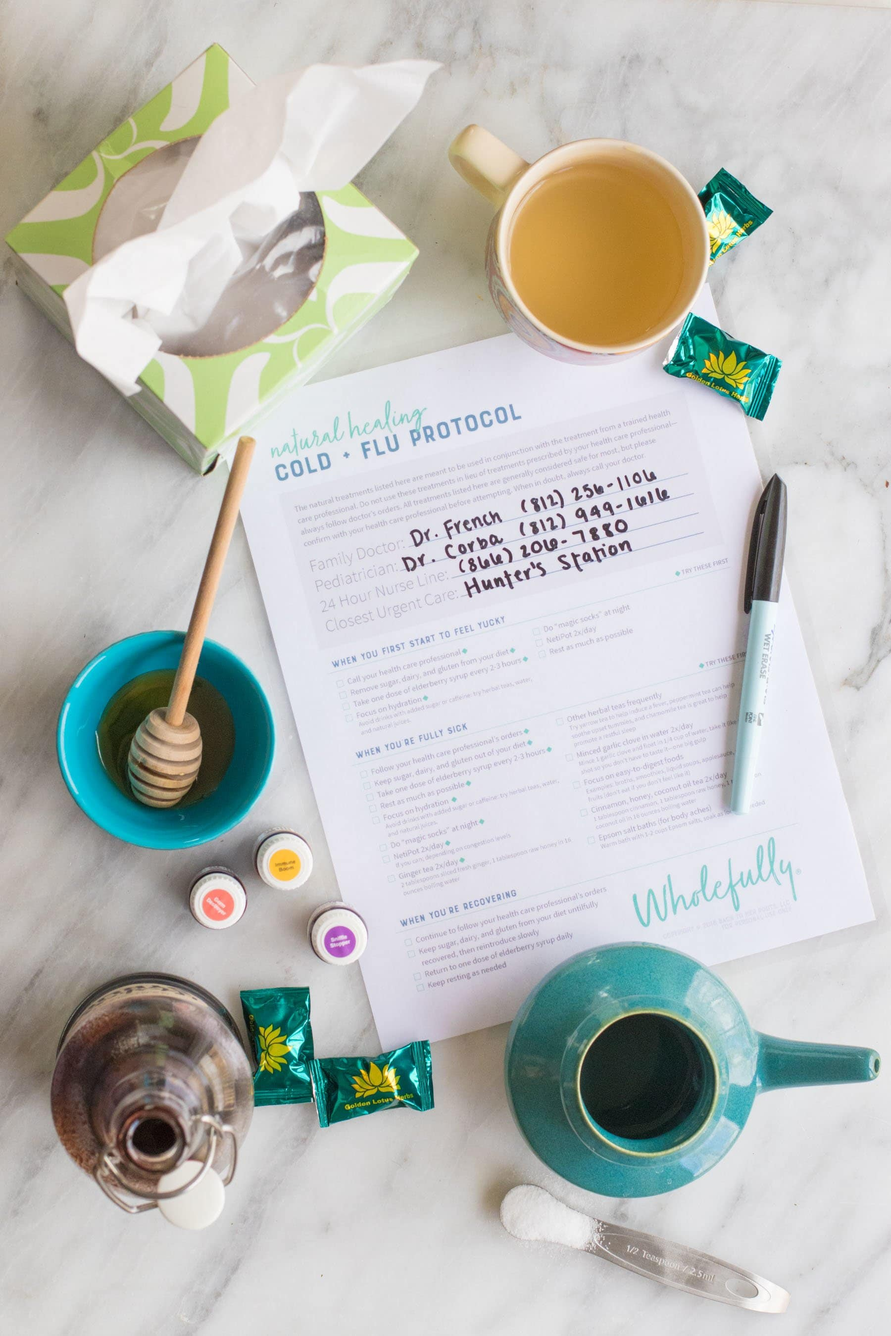 1c75cf449f My Favorite Cold and Flu Home Remedies (Free Printable) | Wholefully
