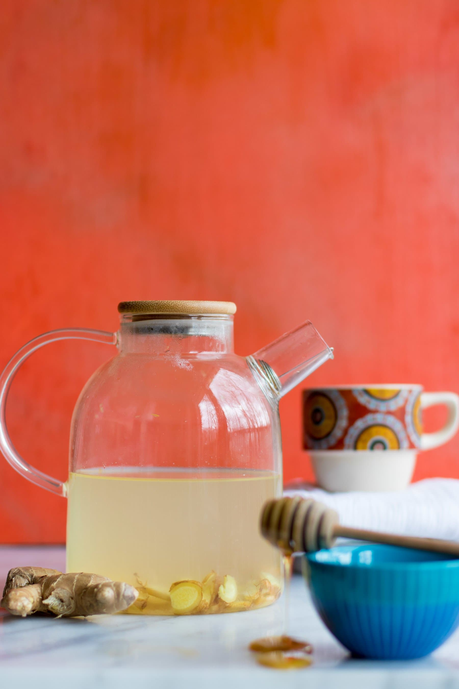 Cold and Flu Home Remedies - Ginger Tea